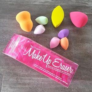 Colorful Blending Sponge & Makeup Eraser Bundle
